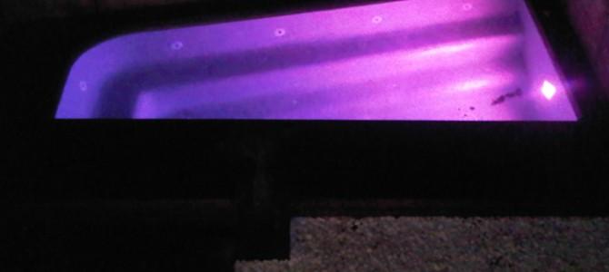 Construcción de un jacuzzi con iluminación