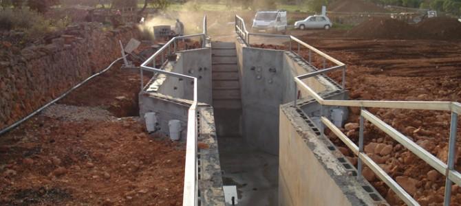 Construcción de una piscina para caballos en Llucmajor
