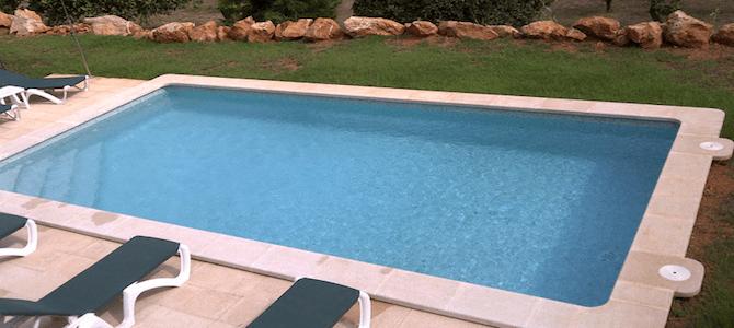 Construcción de una piscina en una finca particular Pollença (Pollensa). Mallorca